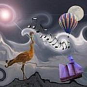 The Dream Voyage - Mad World Series Art Print