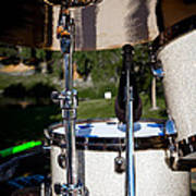 The Drum Set Art Print