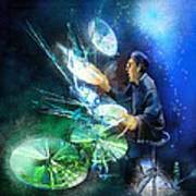The Drummer 01 Art Print