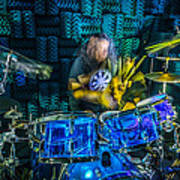 The Drummer Art Print