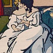 The Duchesse De Langeais Visiting The Vicomtesse De Beauseant Art Print by Quint