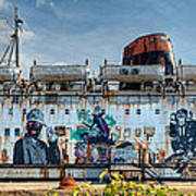 The Duke Of Graffiti Art Print
