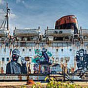 The Duke Of Graffiti Print by Adrian Evans