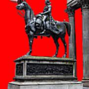 The Duke Of Wellington Red Art Print