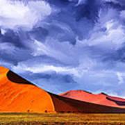 The Dunes Art Print