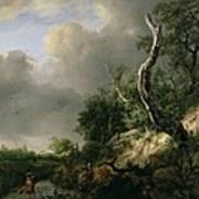 The Dunes Near Haarlem Art Print