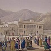 The Durbar-khaneh Of Shah Art Print