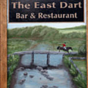 The East Dart Art Print