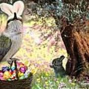 The Easter Hummer Art Print