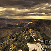 The Eastern Rim Of The Grand Canyon Art Print