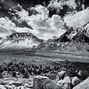 The Eastern Sierra Art Print