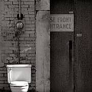 The Electric Outhouse Print by   Joe Beasley