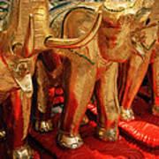 The Elephant Shrine Art Print