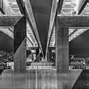 The Elevated Freeway Art Print