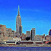 The Empire State Building And The New York Skyline 20130430 Art Print by Wingsdomain Art and Photography