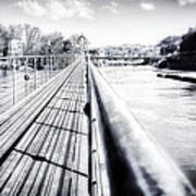 The Endless Bridge Art Print