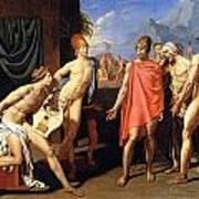 The Envoys Of Agamemnon Art Print