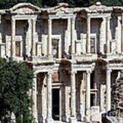 The Ephesus Library In Turkey Art Print