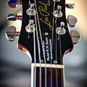 The Epiphone Les Paul Guitar Art Print