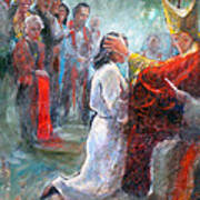 The Episcopal Ordination Of Sierra Wilkinson Art Print