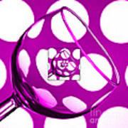 The Eternal Glass Pink Art Print