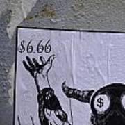 The Evil Means  Art Print