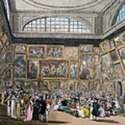 The Exhibition Room At Somerset House Art Print