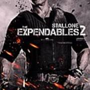 The Expendables 2 Stallone Art Print