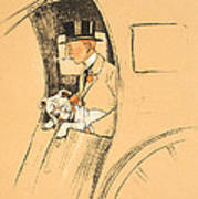 The Extra Passenger Art Print