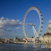 The Eye In London Art Print