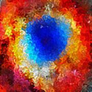 The Eye Of Heaven Art Print