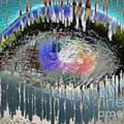 The Eyes 10 Art Print