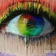 The Eyes 15 Art Print