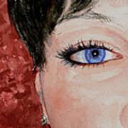 The Eyes Have It - Nicole Art Print