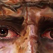The Eyes Of Eternal Love Art Print