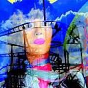 The Eyes Of Miss Coney Island Art Print