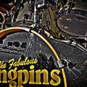 The Fabulous Kingpins Drums Art Print