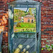The Factory Door Art Print