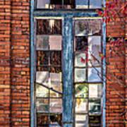 The Factory Window Art Print