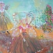 The Fairies And The Artist Art Print
