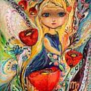 The Fairies Of Zodiac Series - Virgo Art Print