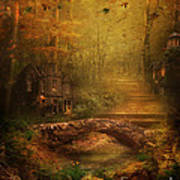 The Fairy Forest In The Fall Art Print