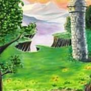 The Fairy Tale Tower Art Print
