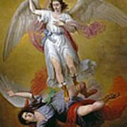 The Fall Of Lucifer Art Print