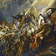 The Fall Of Phaeton Art Print by  Peter Paul Rubens