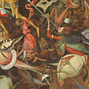 The Fall Of The Rebel Angels, 1562 Oil On Panel Detail Of 74037 Art Print