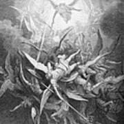 The Fall Of The Rebel Angels Art Print