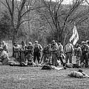 The Fallen Civil War Art Print