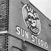 The Famous Sun Studio In Memphis Tennessee Photograph By