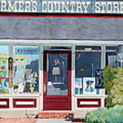 The Farmer's Country Store Art Print
